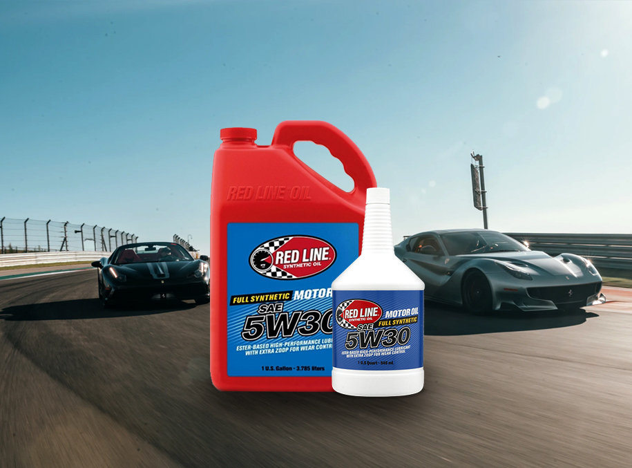 Fuel Distributor - Red Line Lubricants SAE 5W30