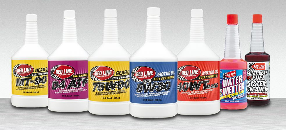 Red Line Lubricant Products