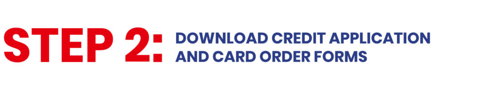Step 2 - National Fuel Card